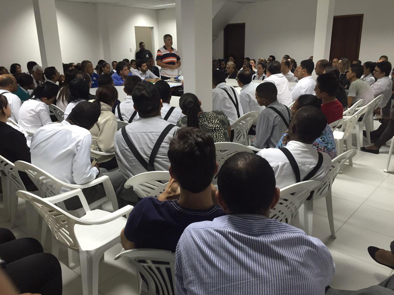 Reunião dos candidatos com a liderança da ICDV